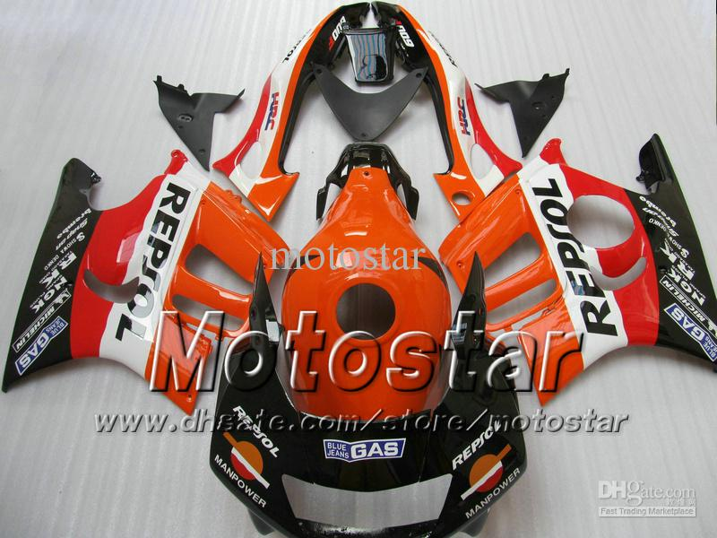repsol 오토바이 차체 부품 Honda CBR600 F3 97-98 CBR 600 F3 1997 CBR 600F3 97 98 CBR 600F3 97 98 페어링
