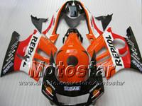 Wholesale Motorcycle Parts For Honda - H2559 REPSOL motorcycle bodywork parts ABS Fairing kit for HONDA CBR600 F3 97-98 CBR 600 F3 1997 1998 CBR 600F3 97 98 fairings
