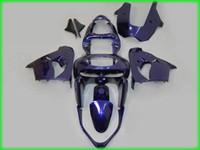 Wholesale Ems Free Fairings - EMS Free bodywork 1998 1999 KAWASAKI Ninja ZX-9R 98 99 ZX9R ZX 9R zx-9 fairing kits +Windscreen 9828