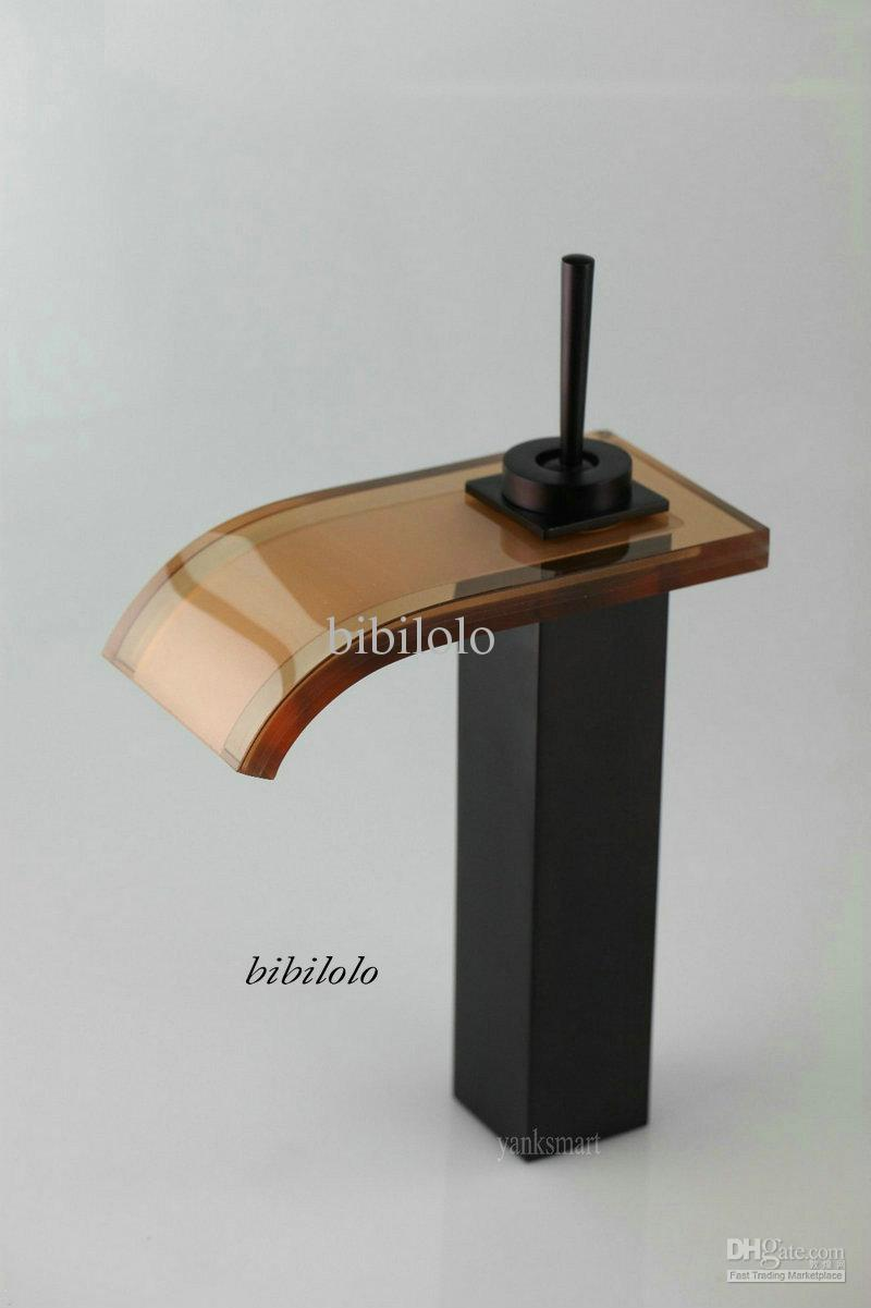 2018 Modern Oil Rubbed Bronze Faucet Brass Waterfall Basin Sink Mixer Tap  Dh 341 From Bibilolo, $59.52 | Dhgate.Com