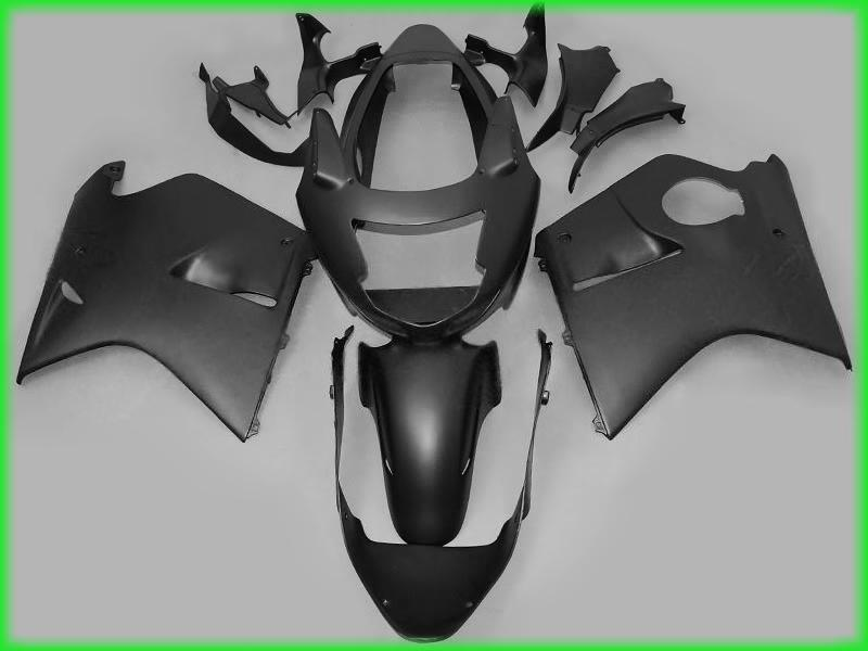 H1128 Matte Black Plastic Fairing voor Honda CBR1100XX 1997-2003 CBR 1100xx 97 98 99 00 01 02 03 Fairingd Kit