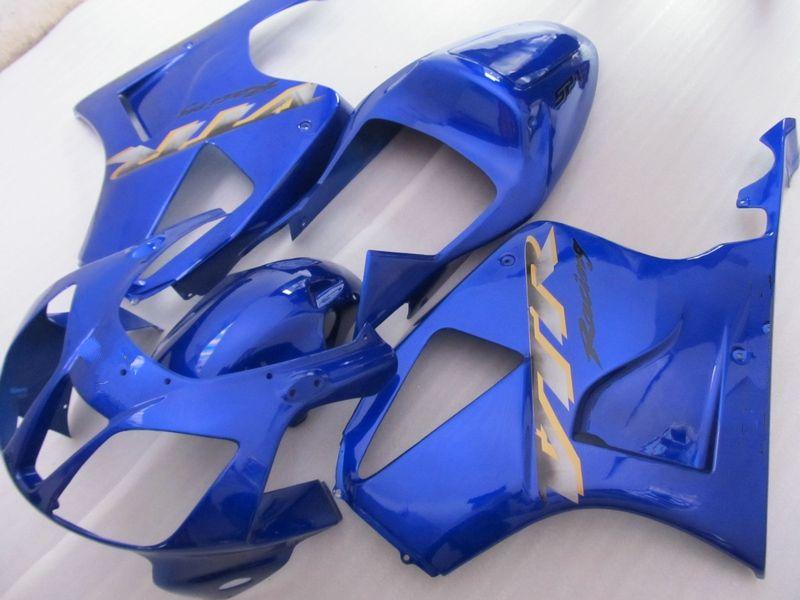 H1032 Free ship Tous les carénages bleus pour le kit de carénage Honda VTR RVT 1000 R 1000R VTR1000 RVT1000 SP1 RC51