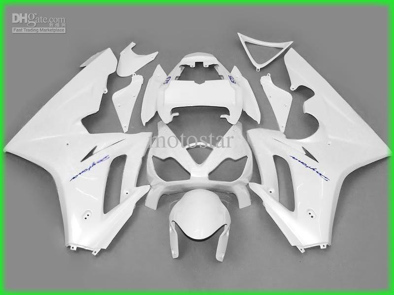 オートバイの勝利のための白いABSフェアリング1075高品質の妖精はカスタムペイントカラーを受け入れますT6733