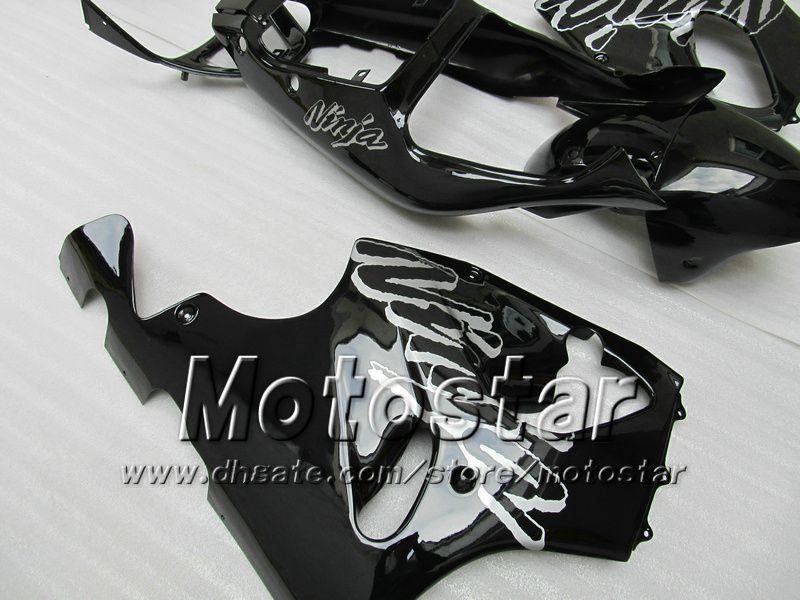 K7668 Black Fairing kit for KAWASAKI Ninja ZX7R ZX-7R ZX 7R ZZR 750 1996 1997 1998 1999 2000 2001 2002 2003 fairings kits
