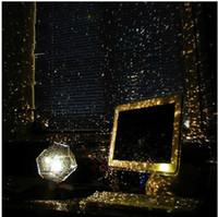 luzes da noite de projeção venda por atacado-Marca nova Ciência Humana DIY Estrela Sazonal Projeção Do Céu Projetor Night Light Chrismas Presentes Frete Grátis