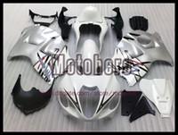 Wholesale Hayabusa Fairing White Silver - white silver black for SUZUKI GSXR1300 Hayabusa 97 07 GSX-R1300 97-07 1997 2007 1997-2007 ABS fairing kit y7878