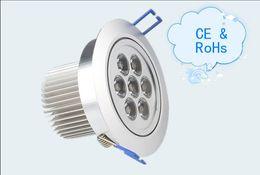 Wholesale Quality Bathroom Fixtures - Top quality CREE 21W LED Ceiling Light 85-265V LED Downlight Spotlight Fixture Lamp White ,Warm White 10pcs