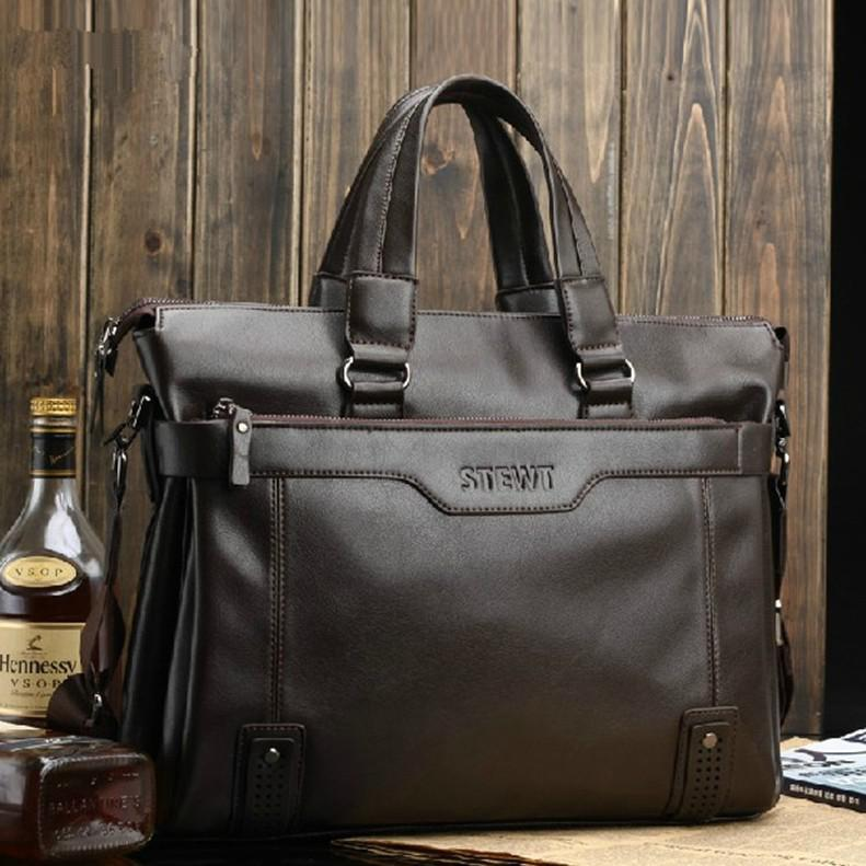 Briefcases Mens Luxury Best Briefcase For Men Genuine Cow Leather ...