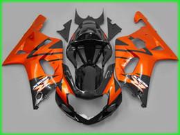 Benutzerdefinierte rennverkleidungen online-Custom Motorrad Verkleidungskit für SUZUKI 2001 2002 2003 GSXR 600 750 01-03 ABS Racing Verkleidung Körper