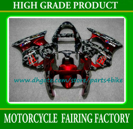 Wholesale Kawasaki Ninja Part - HOT! red black race motorcycle fairing kit for 2000-2002 Kawasaki motobike parts Ninja ZX-6R 636 ZX6R 00 01 02 fairings with 7gifts