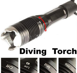 Wholesale Trustfire Dive Torch - Free Shipping,Brand New TrustFire J1 1000 Lumens XM-L T6 LED Diving Flashlight 100m Waterproof Underwater Torch Light