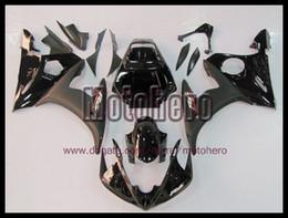 Windscreen For Yamaha R6 Canada - high quality black Fairings for YAMAHA YZF R6 03 04 05 YZF-R6 2003 2004 2005 YZF600 03-05 ABS fairing kit bodywork & windscreen y6663