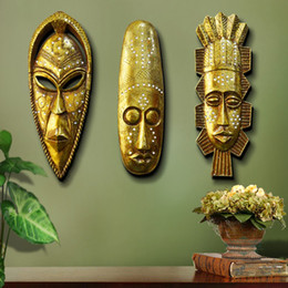 Wholesale European Style Home Decoration - New Styles European retro resin personalized home living room bedroom wall decorations and bars decor free shipping