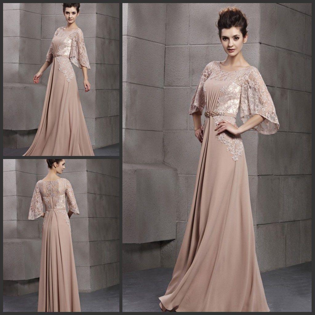 European Style New Lace Body Chiffon Gorgeous Evening Dress Formal ...
