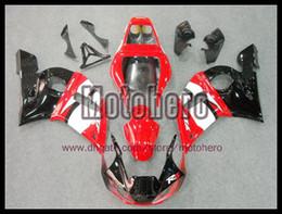 Wholesale r6 body kits - free shipping red white black body for YAMAHA YZF R6 98 99 02 98-02 YZFR6 1998-2002 1998 2002 ABS fairing kit + 3gifts e7778