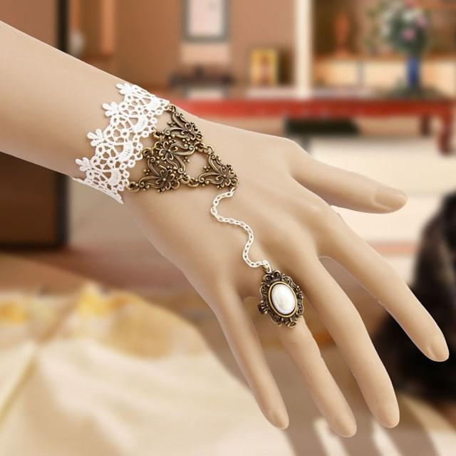 Stylish High Quality Bridal Jewelry Bracelet Hand Chain Wrist Decoration For Event Wedding Evening Party 16