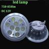 AC 85-265V or 12V 12W G53 Luminous flux 900-990LM LED halogen lamp spot light, free shipping