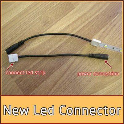 Pas besoin de connecteur à souder avec un connecteur femelle pour 3528/5050 couleur unique bande