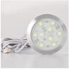 9pcs of SMD5050 DC12v 120lm 1.8w Round Thin Furniture Downlight LED Cabinet Spot Light , free shipping