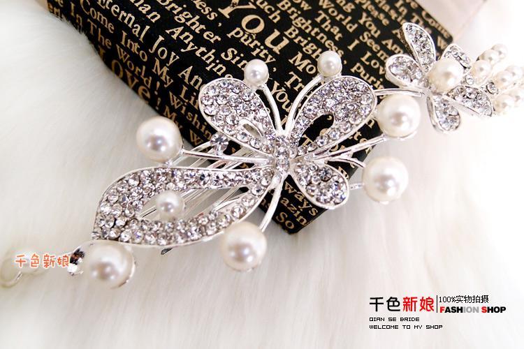 2013 new bridal crown bridal accessories women tiaras pearl