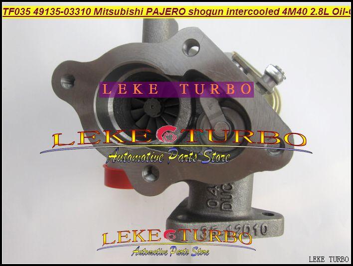 Oil cooled Turbo Cartridge CHRA TD04 49135-03130 49135-03310 For Mitsubishi Pajero II shogun intercooled Mighty Truck 4M40 2.8L Turbocharger