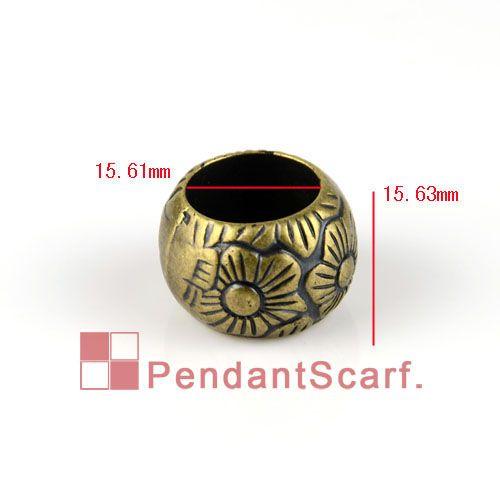 / Vente Chaude Antique Bronze Plaqué Bijoux Collier Écharpe Pendentif En Plastique CCB Charme Perles Accessoires, Livraison Gratuite, AC0133B