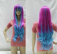 Wholesale Cheap Hairnets - Wholesale cheap New woman role-playing mixed long curly Cosplay wig +hairnet