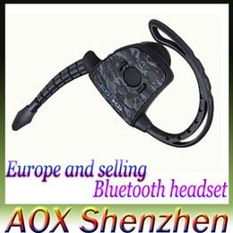 Wholesale Ex S - GioTeck EX-03(S) Hot selling wireless bluetooth game headset mobile phone bluetooth headphone player for PS3 with microphone free shipping