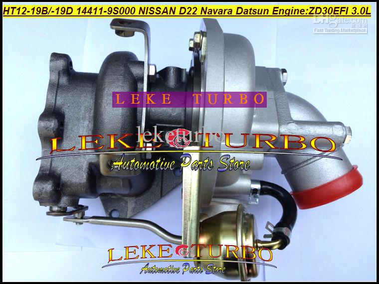 NOVA HT12-19B / HT12-19D 144119S000 Para Nissan FRONTIER D22 Navara 3.0L EFI Datsun ZD30EFI turbocompressor