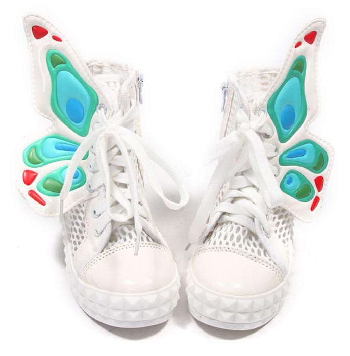 Girls Shoes With Wings