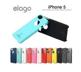 Wholesale Elago Cases - Elago S5 Slim Fit PC case cover for iphone 5 New in Retail package MIX50PCS LOT