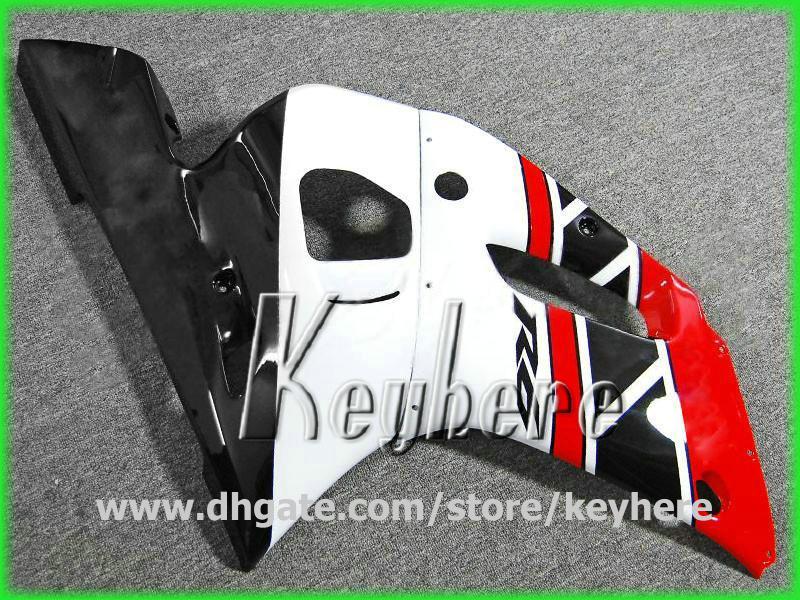 GRATIS 7 geschenken Aanpassen Fairing Kit voor YZF R6 1998 1999 2000 2001 2002 YZFR6 98 99 00 01 02 BIJGELIJKHEID G1H Rood Zwart Wit Motorfiets Carrosserie
