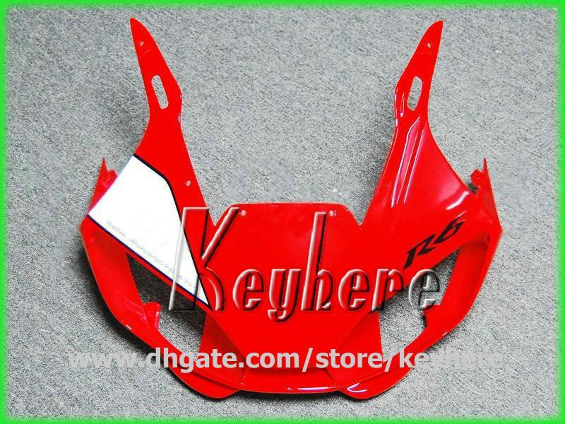 Gratis 7 regalos Personalizar kit de carenado para YZF R6 1998 1999 2000 2001 2002 YZFR6 98 99 00 01 02 carenados G1h rojo negro blanco motocicleta carrocería