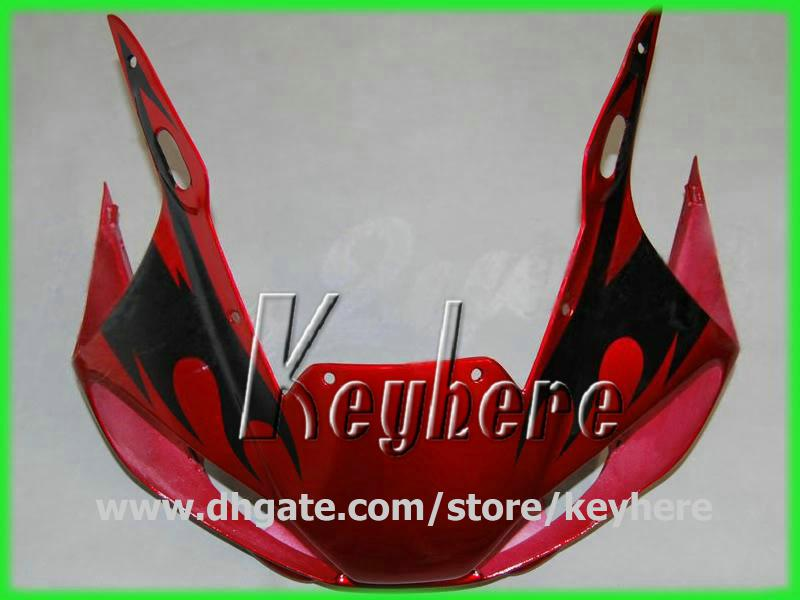 Free 7 gifts Custom race fairing kit for YZF-R6 1998 1999 2000 2001 2002 YZF R6 98 99 00 01 02 fairings G1i new red black motorcycle parts