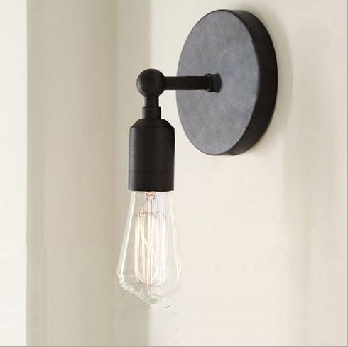 2018 vintage wall lamp with edison bulb for club bar or bedroom see larger image aloadofball Image collections