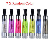 Wholesale Atomizer Detachable Coil Clearomizer Ce4 - High quality CE4+ Atomizer 1.6ml Clearomizer Detachable Coil Clearomizer Electronic Cigarettes for ego t ego v battery AGO C5
