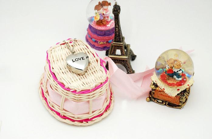 2013 Hot Lovely bonito relógio de bolso Com colar em forma de amor relógio colares PW0011 20 pçs / lote Frete Grátis