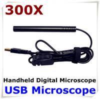 endoscópio video usb venda por atacado-Mini Focal Microscópio Caneta USB Penoscópio Microscópio Otoscópio Microscópio Digital 5MP 300X