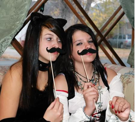 15 styles Designs Funny Photo booth props, 5 lips/5 moustaches/5 glasses on sticks for wedding and party shoot props