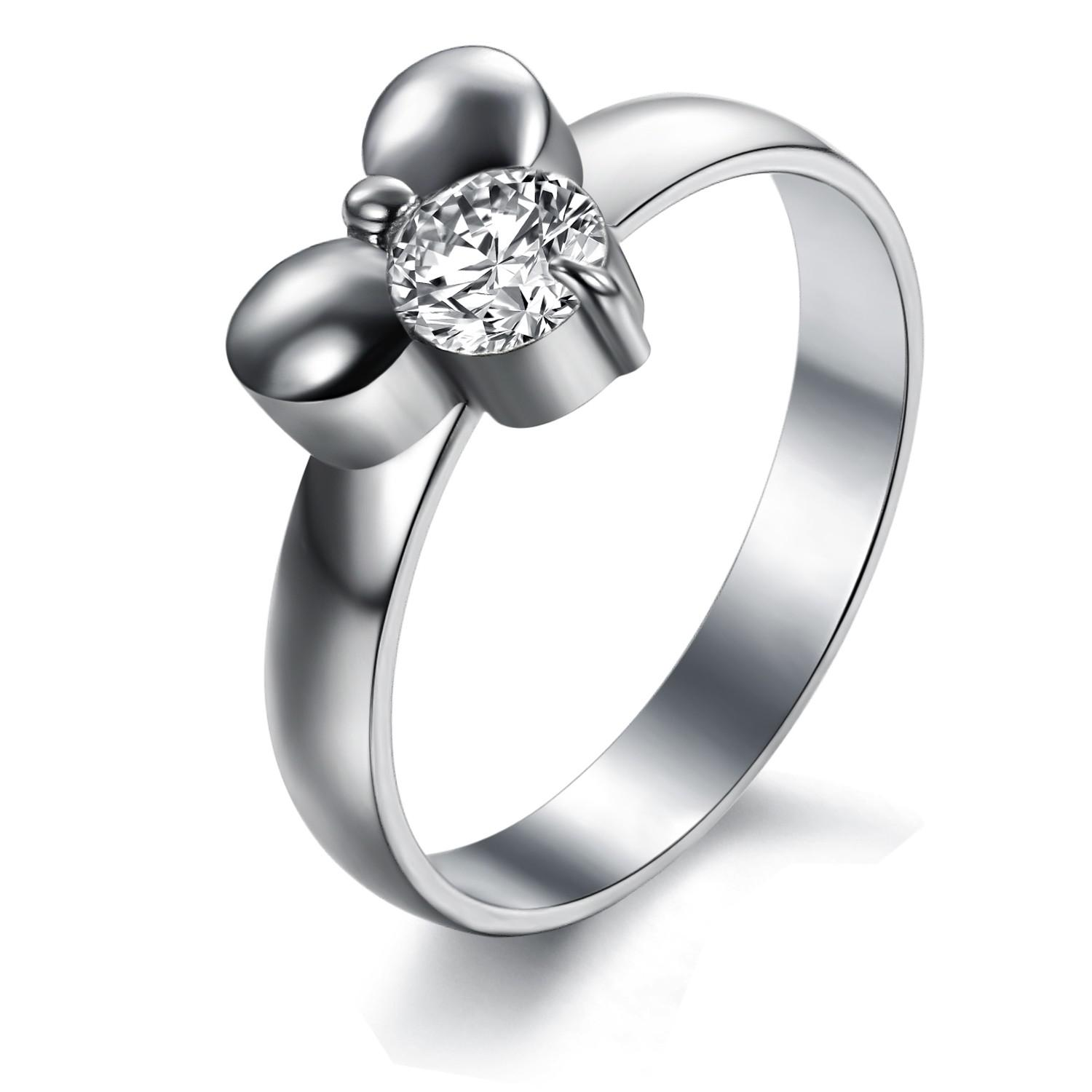 2017 Plated Platinum Wedding Rings Engagement Rings From