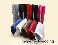 Wholesale evening champagne hand bag for sale - Group buy Elegant Bridal Hand Bags for Wedding Evening Party Event in Silver Grey Red Purple Black Royal Blue Ivory Champagne Fuchsia Dark Navy Coffee