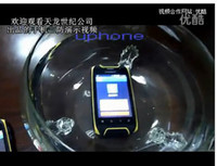 Wholesale Discovery Cellphone - The new 2013 HUMMER H1 MTK6515 Android 2.3 ip57 Waterproof Mobile Phone Dustproof CellPhone 3.5 Retina screen upgrade Discovery
