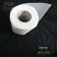 Wholesale Mylar Transfer Paper - 24cm-5M lot Iron On Hot Fix Rhinestone Mylar paper hotfix transfer paper