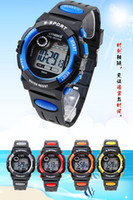 Wholesale Cheapest Digital Watches - Cheapest LED Watch Digital Watch Sports Wrist Watches Fashion Watch Kid Watches Water Resisitant Wholesale 50pcs DHL Drop Free Shipping