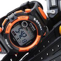 Wholesale Cheapest Sports Watch Men - Cheapest Functional Fashion Men Sports Digital Wrist Watch LED Watch Digital Watch Water Resistant DHL Drop Free Shipping