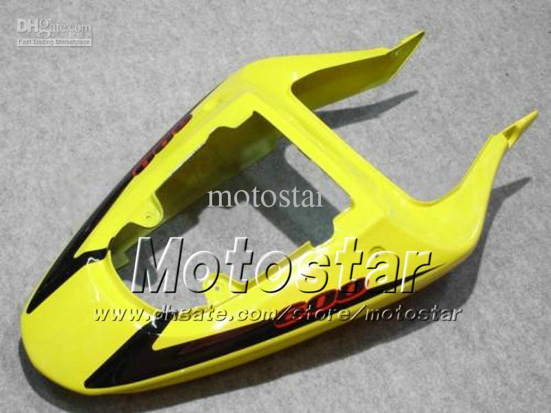 Carénages de carrosserie 7gifts pour SUZUKI GSXR 600 750 K1 2001 2002 2003 GSXR600 GSXR750 01 03 R600 R750 ensemble carénage jaune noir dd38