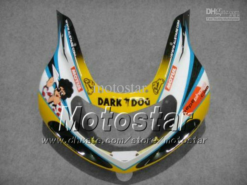 Aangepaste Motorfiets Verklei met 7 Gifts voor Suzuki GSXR 1000 K2 2000 2001 2002 GSXR1000 00 01 02 R1000 MIX Color Fairing Kit DD60