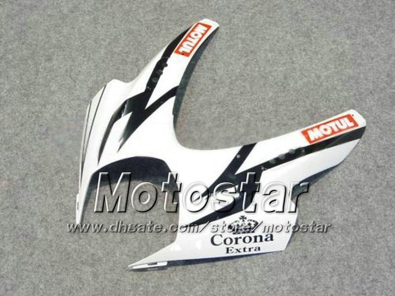 7 Geschenken Motorfiets Verklei voor Suzuki 2007 2008 GSX-R1000 07 08 GSX-R1000 K7 GSXR1000 GSX R1000 WIT CORONA ABS FACKS DD71