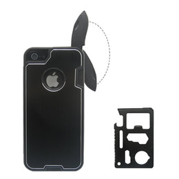 Wholesale Iphone Bottle Openers - Knife Case Cover Swiss Army knife Bottle Opener Pocket Knife Outdoor Camping Multifunction Hard Protector for Apple iphone 5 5G
