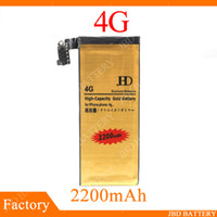 Wholesale Standard Phone Battery - Battery For Mobile Cell Phone iPhone 4 4G Built-in Battery Type lithium Batteries Standard Capacity Replacement Bussiness Battery